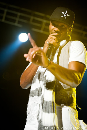"""Shonlock performs with tobyMac on September 11, 2010 during """"Rock The Universe"""" at Universal Studios in Orlando, Florida"""
