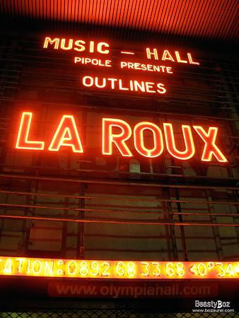 La Roux - Olympia 2010