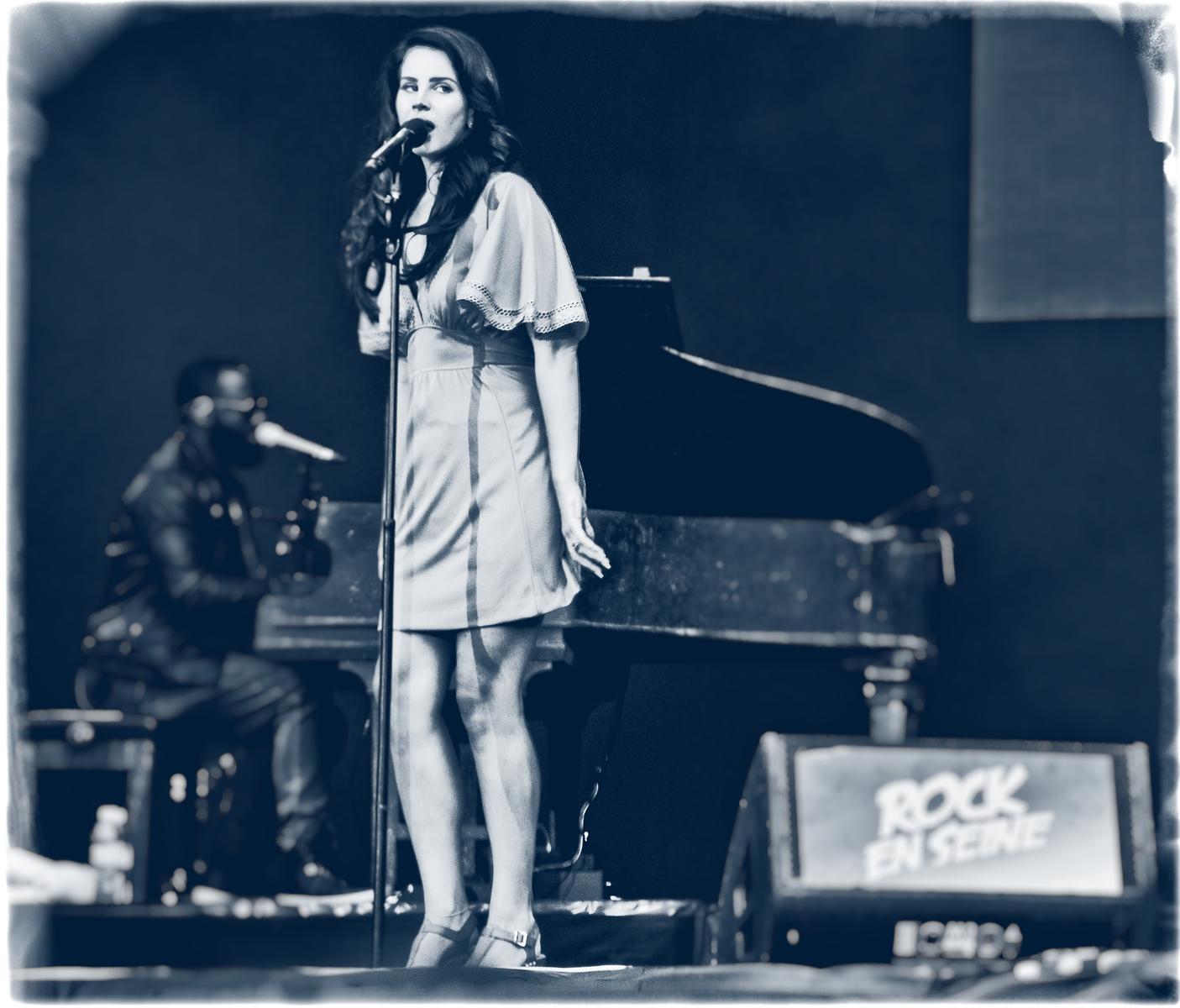Lana Del Rey ::: Rock En Seine 2014