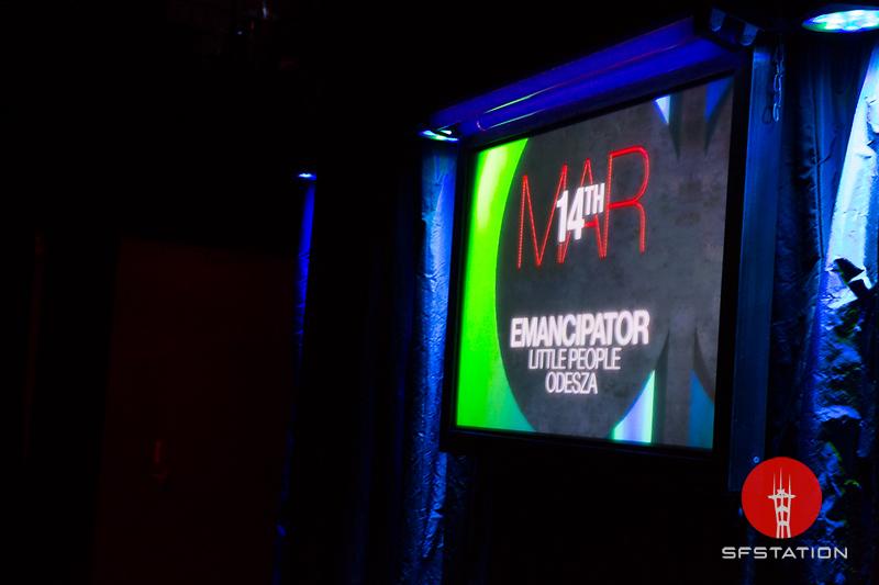 Emancipator, Little People, Odezsa @ Mezzanine 3.14.2013