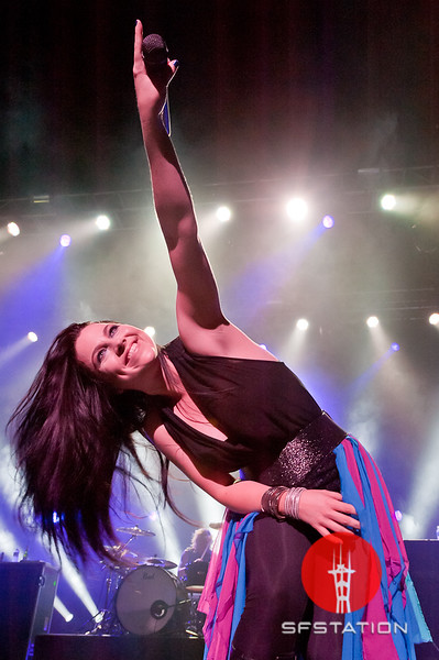"""Photo by Ezra Ekman <br /><br /> <b>See event details:</b> <a href=""""http://www.sfstation.com/evanescence-e1401482""""> Evanescence, The Pretty Reckless & Rival Sons </a>"""