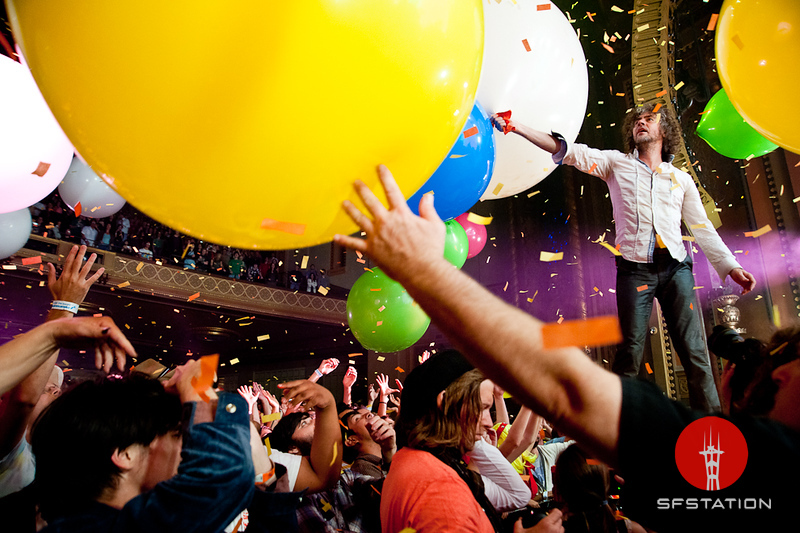 """Photo by Wilson Lee<br /><br />Read the Review: <a href=""""http://www.sfstation.com/live-the-flaming-lips-a32921"""">Live: The Flaming Lips</a>"""