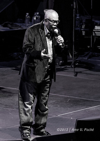 "Sam Moore (of ""Sam and Dave"") singing ""Blues Man"""