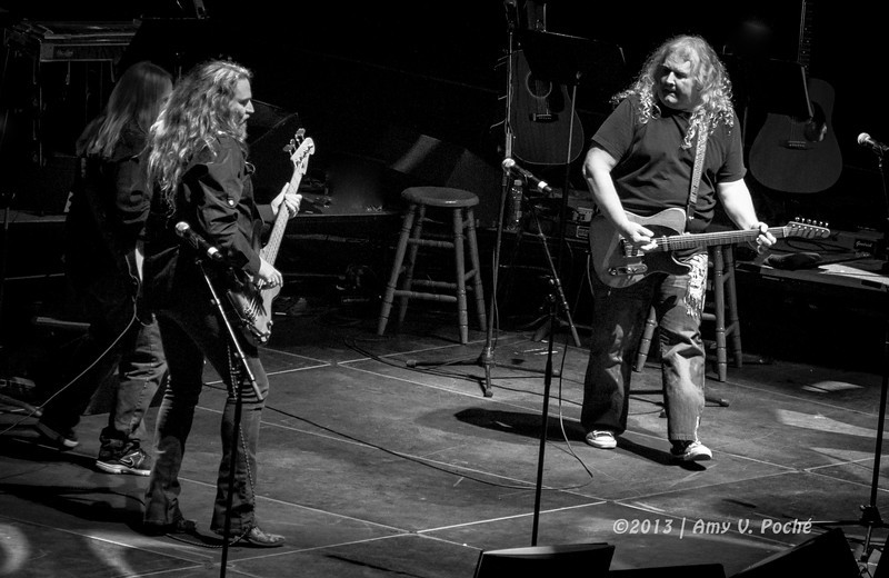 "Kentucky Headhunters singing ""High Tech Redneck""….so appropriate!"