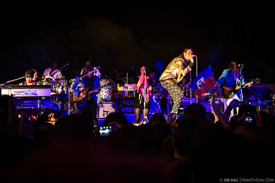 Arcade Fire performing as The Reflektors at Little Haiti Cultural Center, Miami October 24th 2013