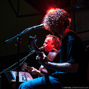Aaron Freeman aka Gene Ween, accompanied by Joe Young performing at Blackbird Ordinary Feb 21 2013 Miami FL