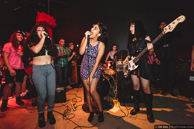 Landica at the Audio Junkie 3rd Annual Independence Day Bash, at Gramps, Wynwood Miami July 2014