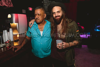 Nadeem Khan and Cheap Miami's Patrick Garcia at Gramps, Wynwood Miami, January 22nd, 2016
