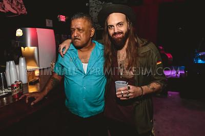 Nadeem Khan and Cheap Miami's Patrick Garcia at Gramps, Wynwood Miami, January 22nd, 2016
