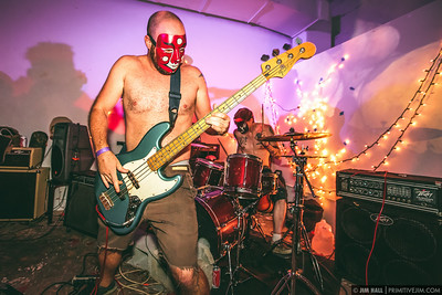 Daikaiju performing at Space Mountain, Miami, Florida, August 5th, 2014