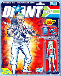 Awesome gig poster designed by Hot Damn Arts' Dave Berns go check out his work on this and tons of other cool posters here http://hotdamnarts.com/wordpress/?p=783  You can find his work on facebook here http://www.facebook.com/hotdamnarts and here http://www.facebook.com/MrDaveBerns  This poster had a limited run of 60 pieces and is almost sold out. Act quickly if you want to get a copy of this piece.  Screenprinting done by Chuck Loose at http://ironforgepress.com  Iron Forge Press is constantly putting out some of the coolest gig posters. Follow them on facebook and check out all the services they offer here http://www.facebook.com/iron.f.press