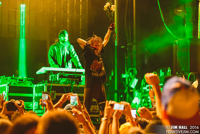Crystal Castles at House of Creatives Music Festival, Miami, FL, Nov. 19, 2016