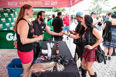 Vendors at Pompano Beach Amphitheater