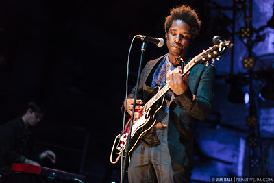 Curtis Harding opens for The King Khan & BBQ Show and The Black Lips at The Goat Farm Art Center in Atlanta, Georgia on Saturday, Oct. 4, 2014