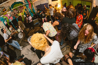 Problem Child performing at Fuzz Baby Records, March 1st, 2017