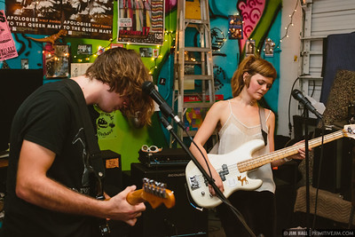 The Water Colors performing at Fuzz Baby Records, March 1st, 2017