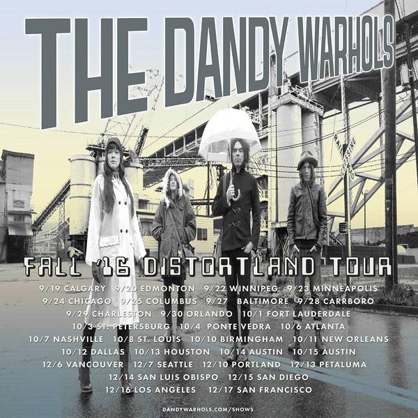 The Dandy Warhols - Oct 1st at Culture Room