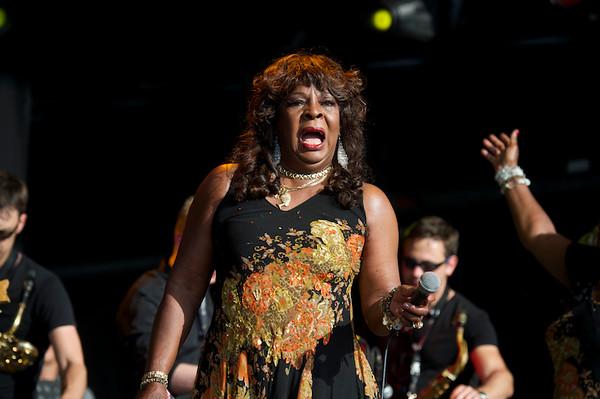 Martha Reeves and the Vandellas, 2014 Wickerman Festival, Summerisle Stage