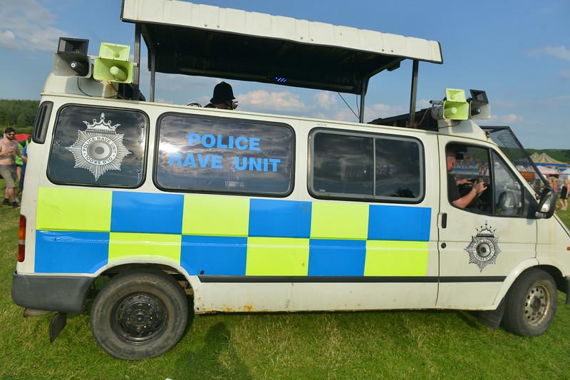 Police Rave Unit, 2014 Wickerman