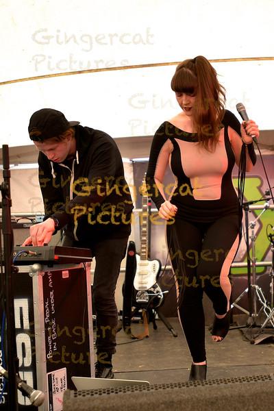 Zena Hell, Solus Tent, 2015 Wickerman Festival,