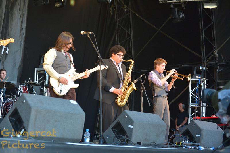 Federation of the Disco Pimp, 2012 Belladrum Festival