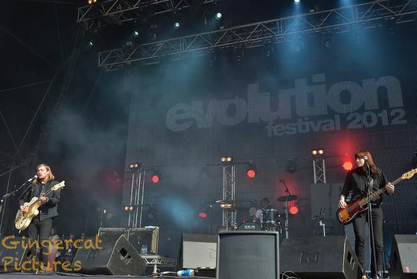 Evolution Festival 2012' Tyneside Newcastle  Band of Skulls