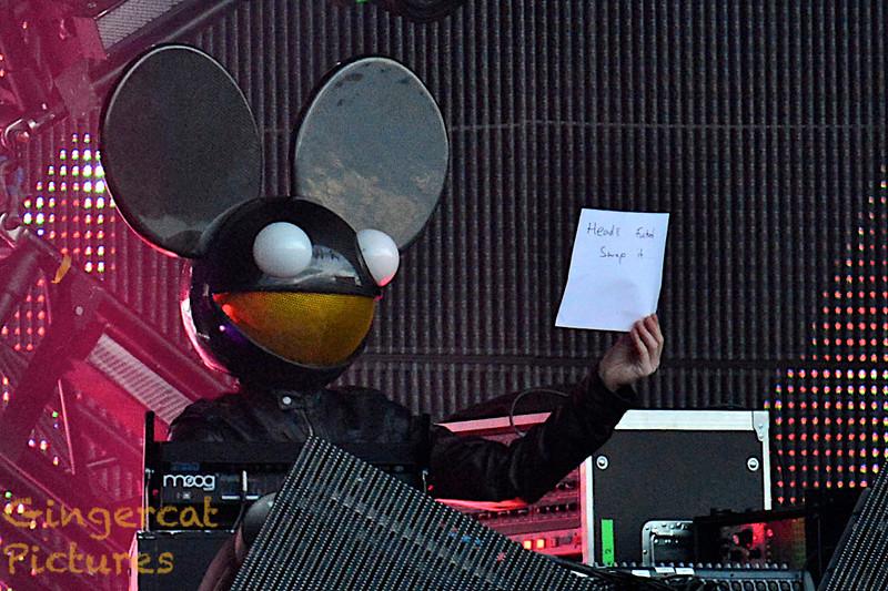 Deadmau5, Evolution Festival 2012<br /> Tyneside Newcastle