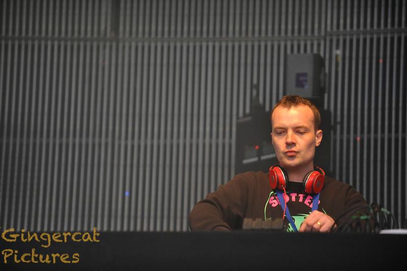 Evolution Festival 2012' Tyneside Newcastle  Dizzee Rascal