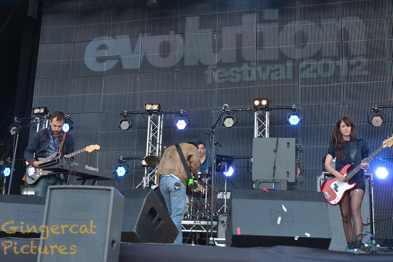 Evolution Festival 2012' Tyneside Newcastle  Here We Go Magic