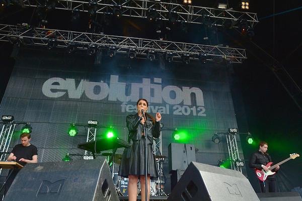 Evolution Festival 2012' Tyneside Newcastle  Jessie Ware
