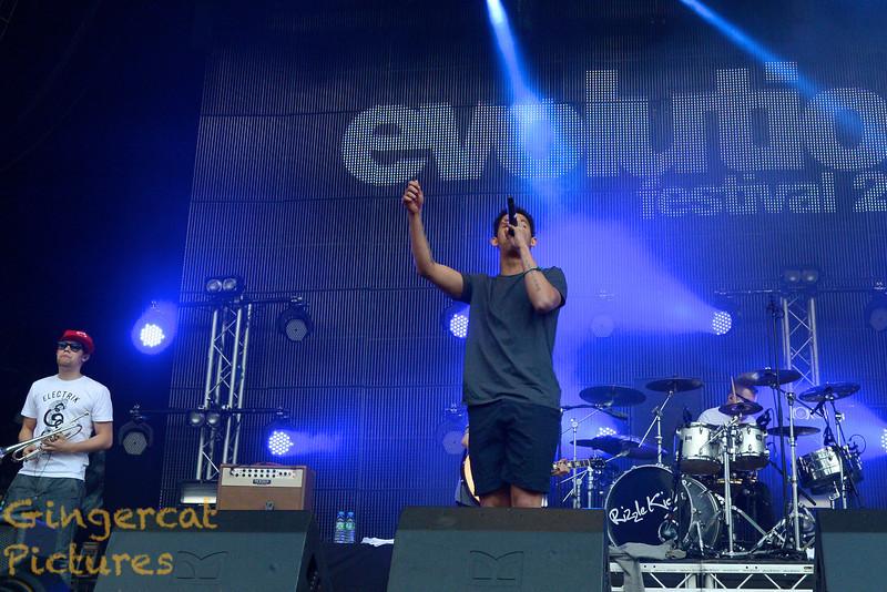 Evolution Festival 2012' Tyneside Newcastle  Rizzle Kicks
