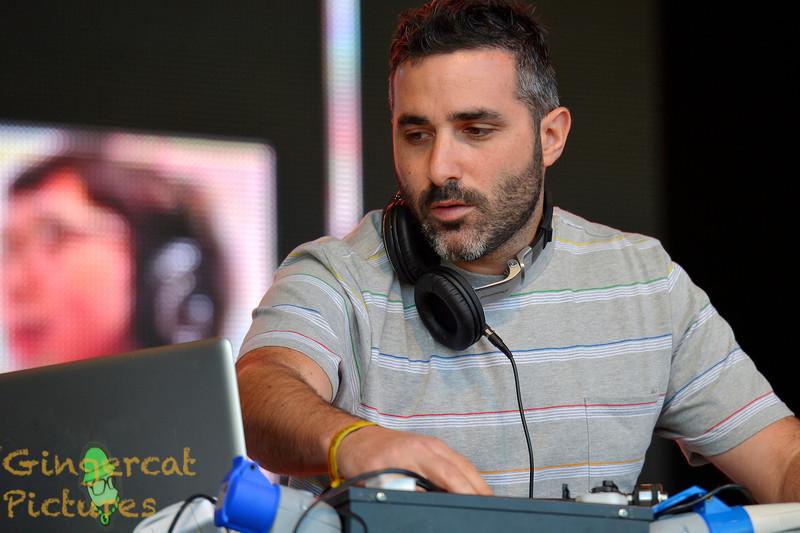 DJ Yoda, 2013 Rockness