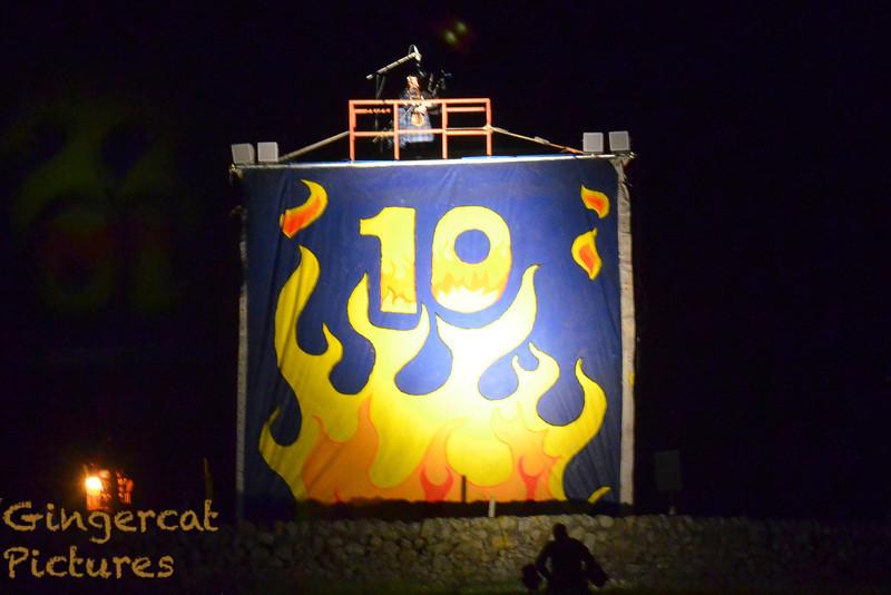 Wickerman burning, Wickerman Festival 2011