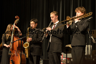Benjamin Zobel and fellow Outstanding Soloists performing together in a Jazz Combo.