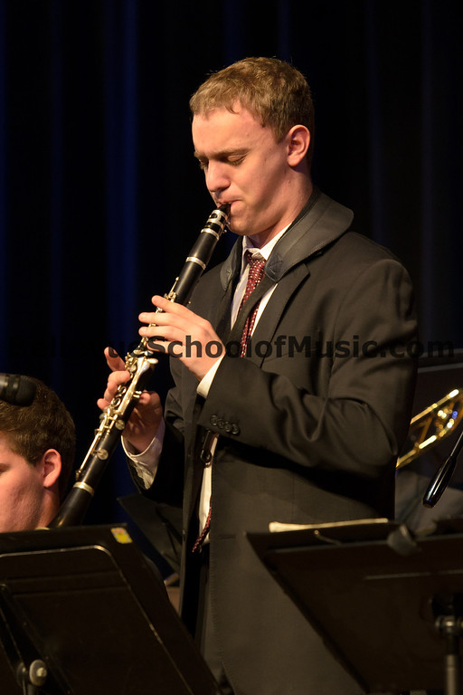 Ben Zobel clarinet solo with Newport High School Jazz 1, winners of the 4A division. Ben was chosen an Outstanding Soloist.