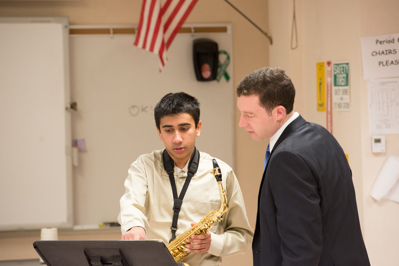 Bellevue School of Music student Adithya Mukund performing Concerto by A. Glazounov (2)