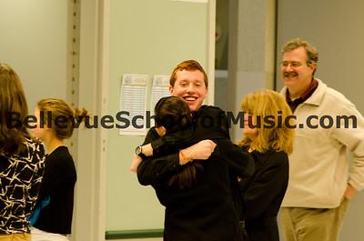 Interlake High School Saxophone Quartet 1st Place Small Ensemble Eastshore Solo and Ensemble 2012