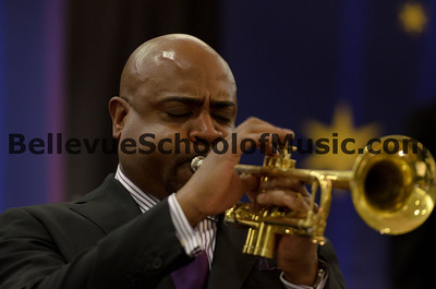 Terrell Stafford performing on Trumpet with Newport High School Jazz 1