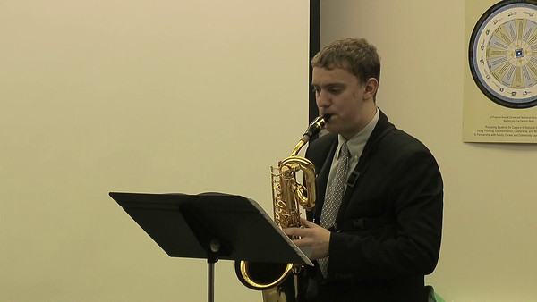 Ben Zobel Baritone Saxophone WMEA Solo and Ensemble State Finals 2012 Concertino Mov.t's II and III by Eugene Bozza
