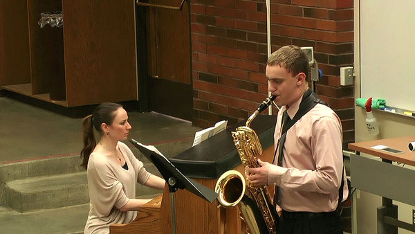 Benjamin Zobel, Baritone Saxophone Concertino da Camera, Jacques Ibert (edited for time) WMEA Solo and Ensemble State Finals Central Washington University April 27th, 2013