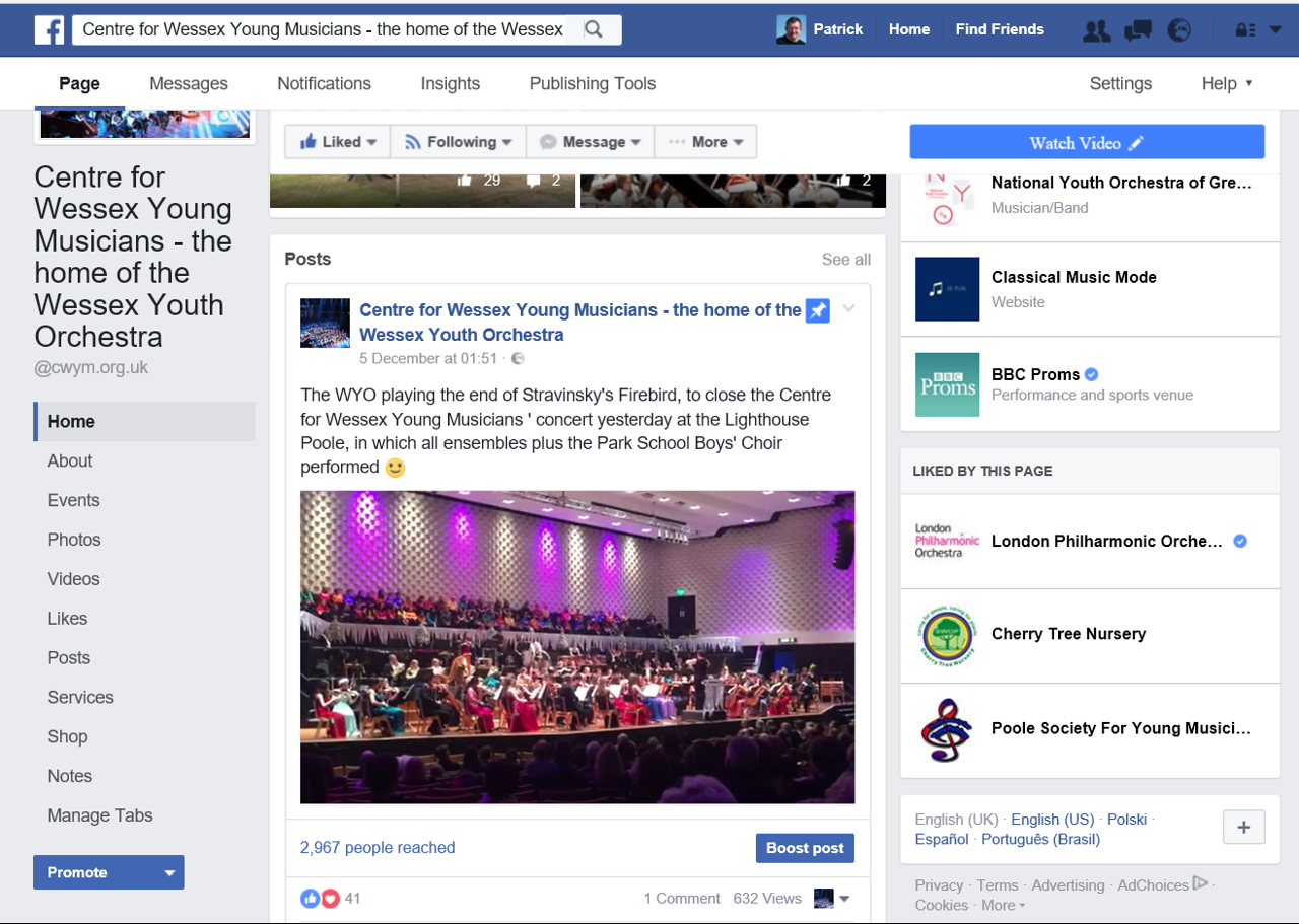 CWYM Facebook Page 2016 Memory 3