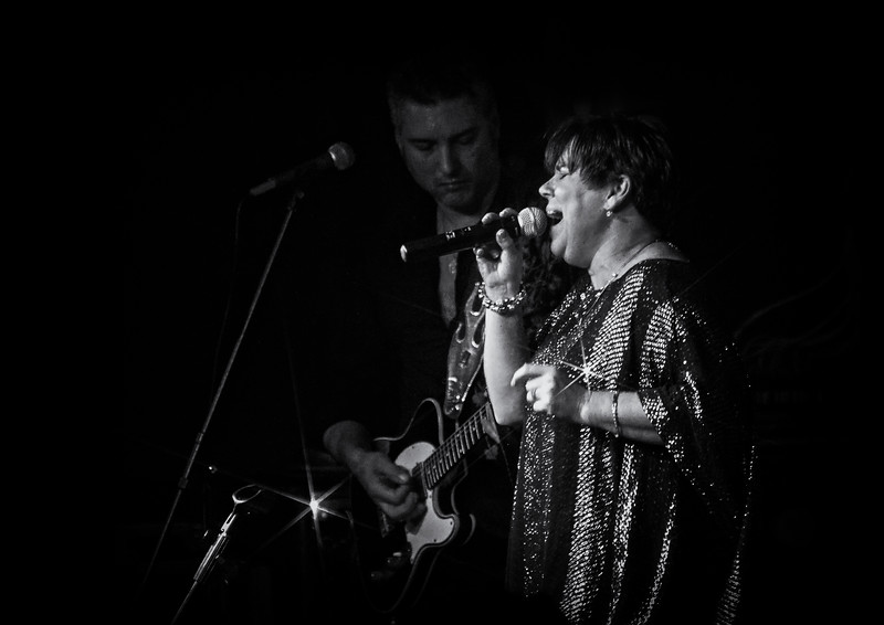 Diane Blue with Roberto Morbioli