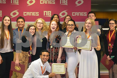 NBHS TOP 10% DINNER 5-9-19 PHOTOS BY KEITH PIGEON