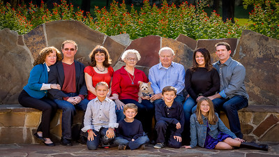 50th Wedding Anniversary Family Photography Session
