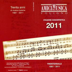 Amici della Musica Foligno 2011