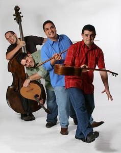 Sesión para disco de Los Sinverguenzas.