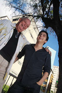 Gerry Weil y Antonio Mazzei, Caracas, Venezuela. 2011.