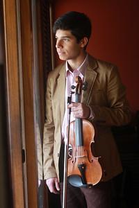 Rubén Rengel, violinista venezolano