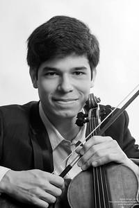 Rubén Rengel, violinista venezolano. 2013