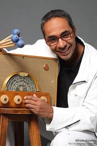 Alfredo Naranjo, vibrafonista venezolano, compositor y maestro.